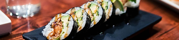 LUNCHES FROM THE SUSHI BAR