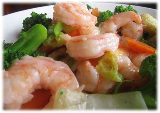 Shrimp w Broccoli