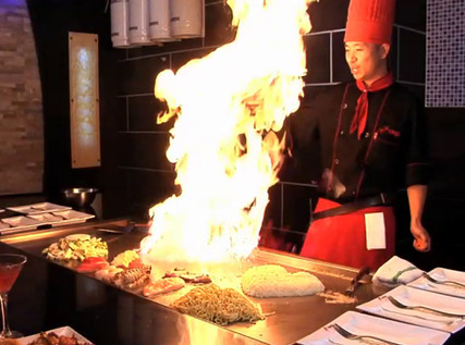 Volcano Steak & Sushi - Woodstock
