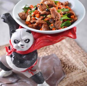 Spicy Hunan Beef 湖南小炒牛