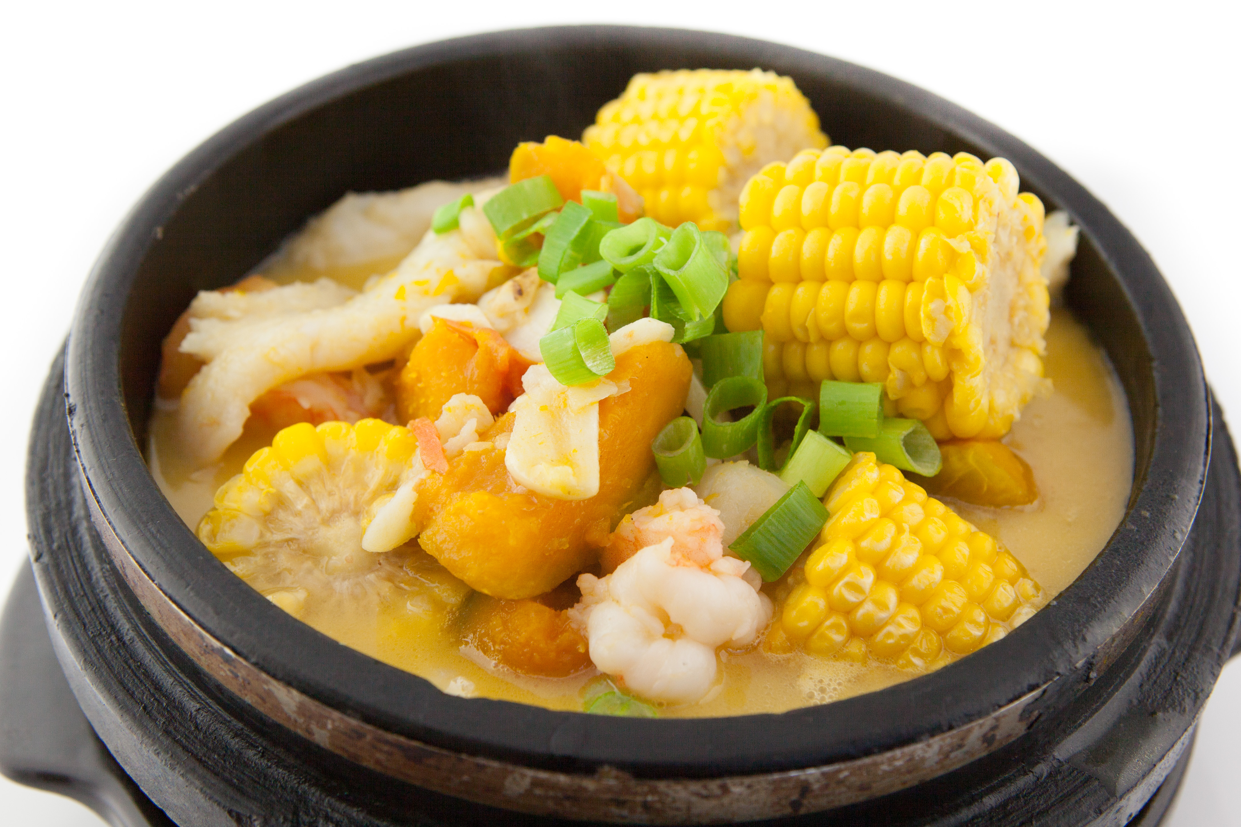 Home Style Mixed Seafood Clay Pot