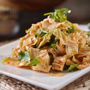 Shredded Fresh Tofu Skin 凉拌腐皮丝