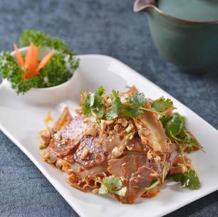 Beef Tendon & Tripe in Szechuan Sauce 夫妻肺片