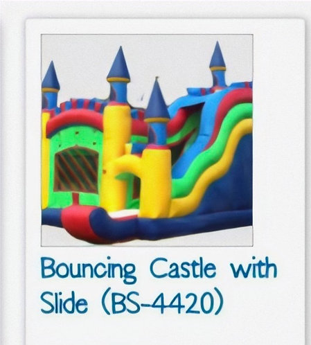 Bouncing Castle with Slide