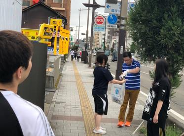 交通事故の救済活動団体NPOジコサポ仙台と浜松での8月の道路清掃活動報告:交通事故無料相談受付中