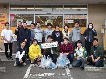 ジコサポ日本仙台支部・浜松支部5月度の道路清掃活動を行いました。