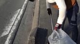 Npoジコサポ浜松主催 第53回 道路清掃活動を行いました。