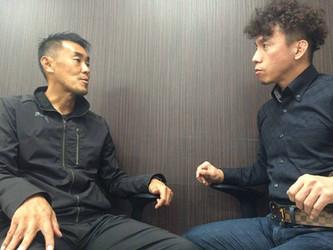 ロアッソ熊本トップチームGKコーチ 澤村公康氏と対談をさせていただきました。