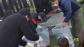 2/28 ジコサポ浜松にて道路清掃活動が行われました。Touch of GOLD & BLAT Clothing Store 主催/ 第56回ボランティア道路清掃活動の報告