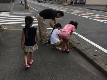 ジコサポ浜松 道路清掃活動が終了しました