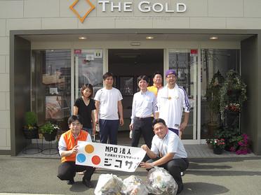 7月の社会貢献活動 「道路清掃」が行われました。