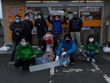 11月Npoジコサポ浜松・12月仙台にて道路清掃活動を行いました。