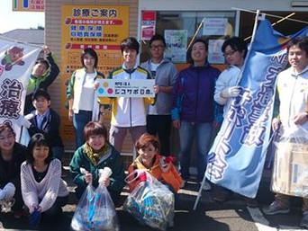 清掃活動を全国に広げています:ジコサポ仙台・山陽小野田・名古屋