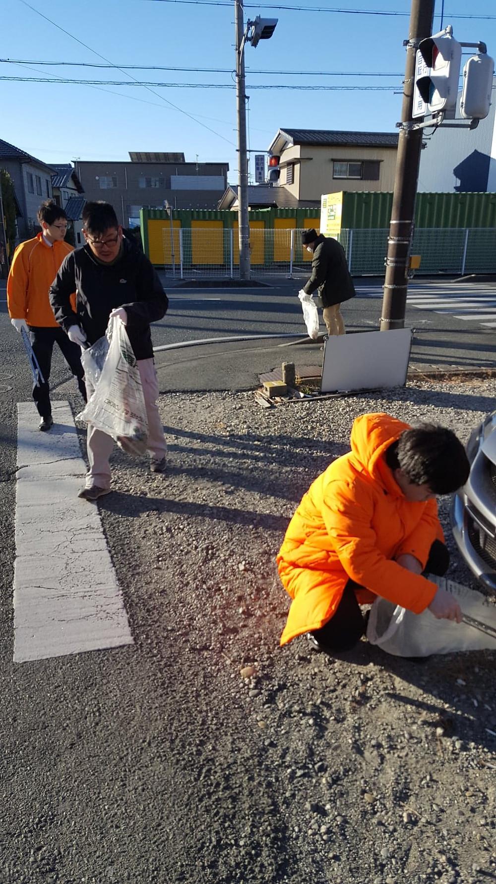浜松市 道路清掃活動