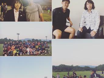 ロアッソ熊本GKコーチ澤村公康氏が指導する熊本大津ゴーリースキームのアドバイザーをしています