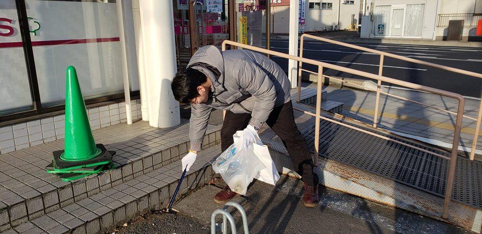 道路清掃活動 仙台 ジコサポ