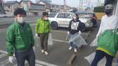 NPO法人ジコサポ浜松主催 4月 ボランティア道路清掃活動を行いました。  浜松市南区若林町 交通事故専門 ジコサポ保険整骨院 にて