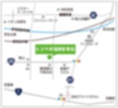 ジコサポ保険整骨院地図