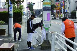20161023浜松道路清掃