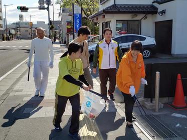 交通事故の救済活動団体NPOジコサポ仙台と浜松での5月の道路清掃活動報告:交通事故無料相談受付中