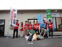 ジコサポ岡山 道路清掃実施します。