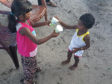 ジコサポ日本もスリランカの養護院へのクラウドファンディングを応援しています