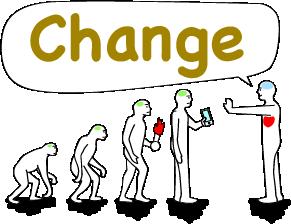 The changeグループの理念を書きました 全ては人の幸せのためにある