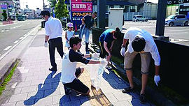 20160710仙台道路清掃
