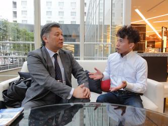 日本交通事故調査機構の佐々木尋貴氏と対談