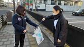 2/14 ジコサポ仙台で道路清掃活動が行われました