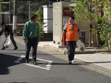 ジコサポ日本 浜松支部 5月度道路清掃活動を行いました。