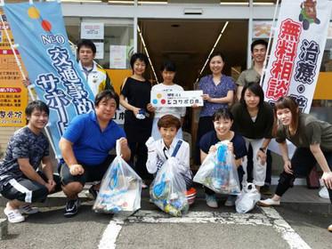 仙台支部8月道路清掃