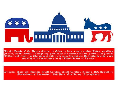 Evolution of DC Flag - Political