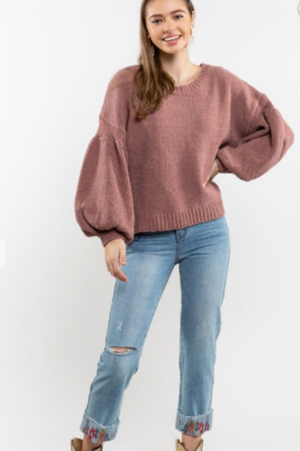 GINGER KNIT SWEATER