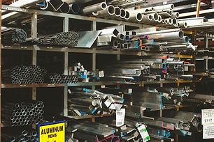 fábrica de aluminio