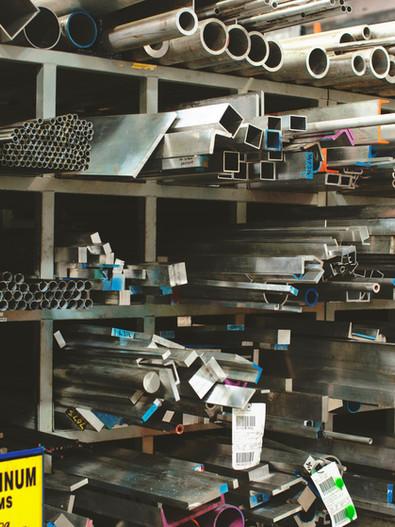 fabbrica di alluminio