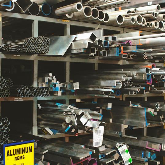 usine d'aluminium