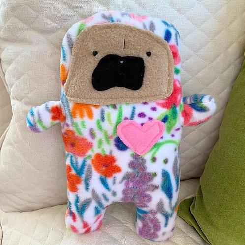 Lily - The Pug-Jama Bummlie ~ Stuffing Free Dog Toy