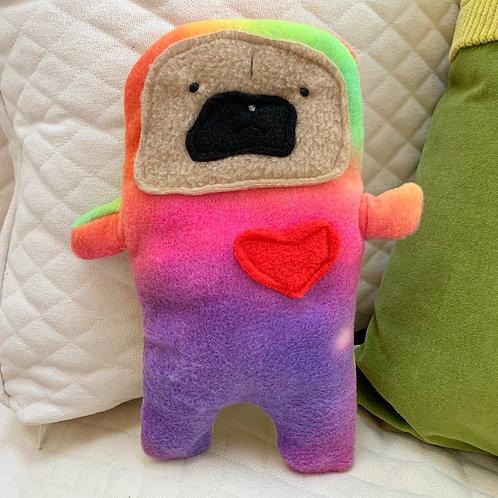 Spumoni - The Pug-Jama Bummlie ~ Stuffing Free Dog Toy
