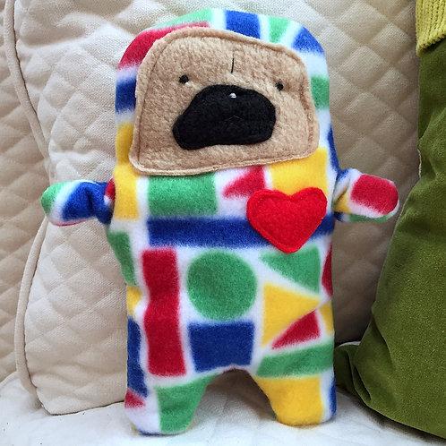 Steve - The Pug-Jama Bummlie ~ Stuffing Free Dog Toy