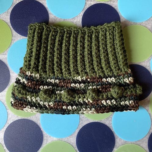 Size M - Woofie Warmer - Green Camouflage