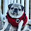 Thumbnail: Size M - Pug Badge Sweater Vest - Red