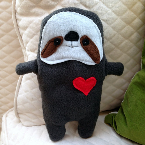 Sal ~ The Sloth Bummlie ~ Stuffing Free Dog Toy