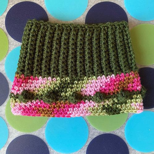 Size M - Woofie Warmer - Pink Camouflage