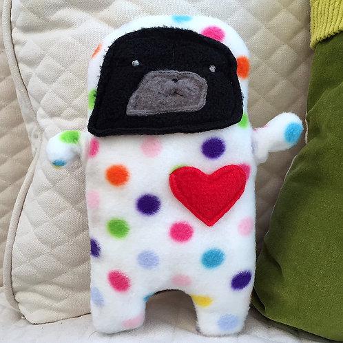 Pixie - The Pug-Jama Bummlie ~ Stuffing Free Dog Toy