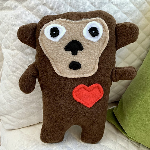 Lucky ~ The Monkey Bummlie ~ Stuffing Free Dog Toy