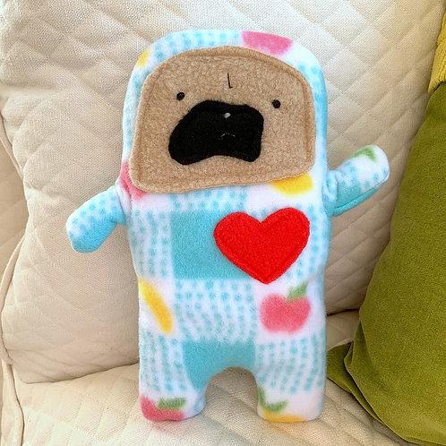 Cutie - The Pug-Jama Bummlie ~ Stuffing Free Dog Toy