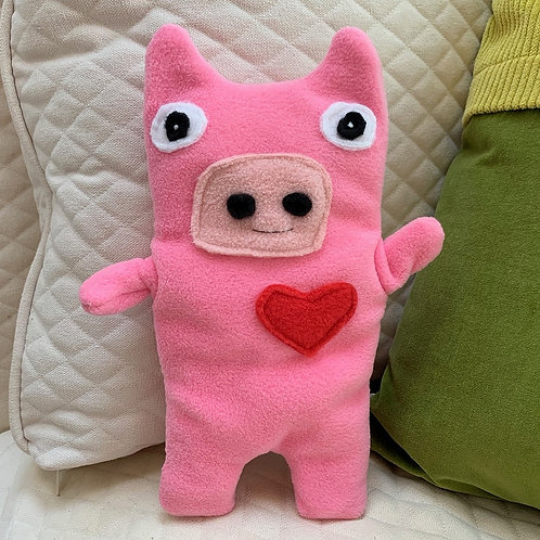 Bub ~ The Pig Bummlie ~ Stuffing Free Dog Toy