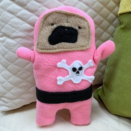 Pirate Penny - The Pug-Jama Bummlie ~ Stuffing Free Dog Toy