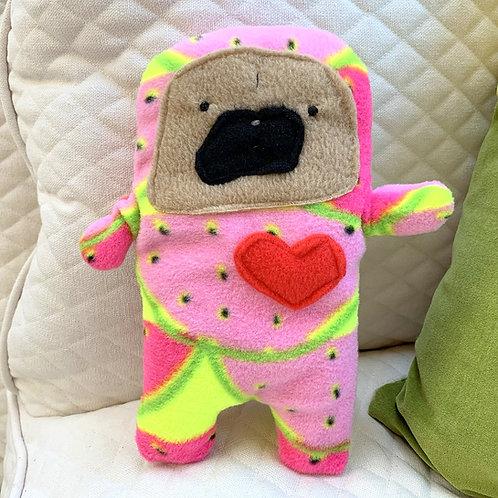 Summer - The Pug-Jama Bummlie ~ Stuffing Free Dog Toy